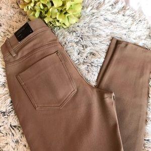 EXPRESS | Tan Legging Pants Mid rise